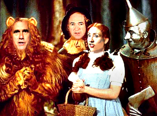 Mitt, Huck and Hil on the Yellow Brick Road to the presidency