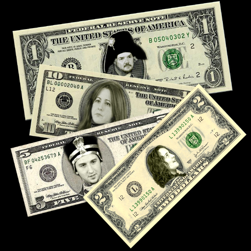 Parker, Jen, Matt and Andrea deliver the currency of comedy!